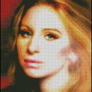 BARBARA STREISAND #1 cross stitch pattern