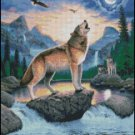 WOLF 4 cross stitch pattern
