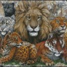 GREAT CATS cross stitch pattern