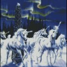 UNICORNS cross stitch pattern