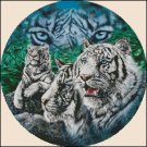 TIGER'S EYES cross stitch pattern