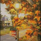CITY OF MAPLES cross stitch pattern