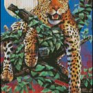LEOPARD cross stitch pattern