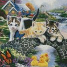 KITTENS cross stitch pattern