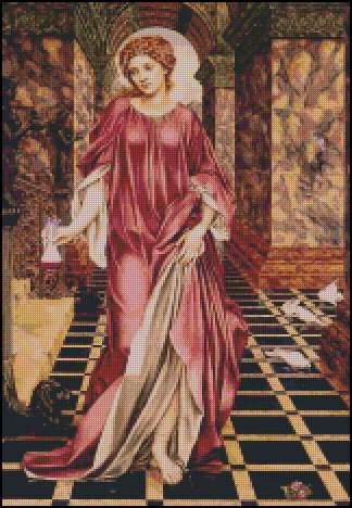 MEDEA cross stitch pattern