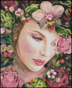 SUMMER FANTASY cross stitch pattern