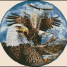 EAGLES cross stitch pattern