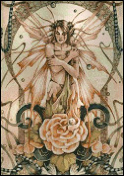 FAIRY cross stitch pattern