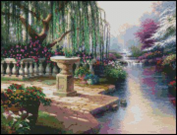 GARDEN 1 cross stitch pattern