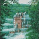 CASTLE IN THE CLOUDS cross stitch pattern