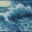 THE WAVE cross stitch pattern