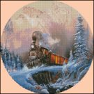 TRAIN cross stitch pattern