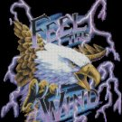 Eagle FEEL THE WIND cross stitch pattern