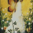 WOODROSE FAIRY cross stitch pattern