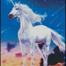 UNICORN COMETS cross stitch pattern