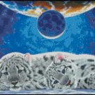 WHITE TIGERS cross stitch pattern