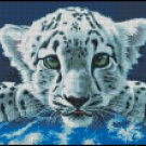 LEOPARD CUB cross stitch pattern