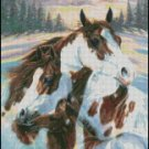 HORSES cross stitch pattern