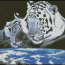 WHITE TIGERS 1 cross stitch pattern