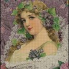 YOUNG MAIDEN cross stitch pattern
