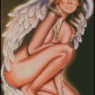 PIN UP ANGEL cross stitch pattern