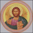 ORTHODOX ICON PANTOCRATOR cross stitch pattern