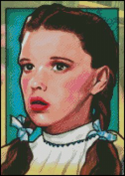 WIZARD OF OZ #4 cross stitch pattern