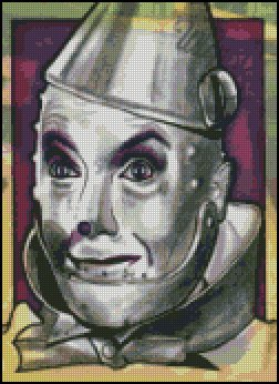 WIZARD OF OZ #6 cross stitch pattern