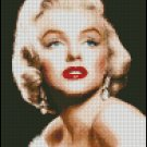 MARILYN MONROE  #7 cross stitch pattern