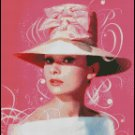 AUDREY HEPBURN #6 cross stitch pattern