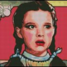 DOROTHY WIZARD OF OZ #9 cross stitch pattern