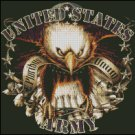 UNITED STATES ARMY cross stitch pattern