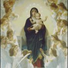 QUEEN OF ANGELS cross stitch pattern