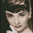 AUDREY HEPBURN 5 cross stitch pattern
