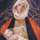 MADONNA AND CHILD cross stitch pattern