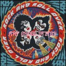 KISS ROCK AND ROLL OVER cross stitch pattern