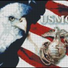 UNITED STATES MARINE CORPS cross stitch pattern