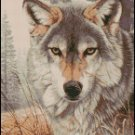 WOLF cross stitch pattern