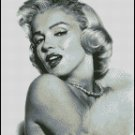 MARILYN MONROE  cross stitch pattern No. 522