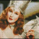 WIZARD OF OZ GLINDA cross stitch pattern