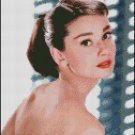 AUDREY HEPBURN 9 cross stitch pattern