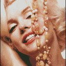MARILYN MONROE 12 cross stitch pattern