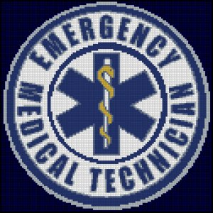 EMT cross stitch pattern