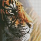 TIGER cross stitch pattern