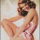 PIN UP SO NICE cross stitch pattern