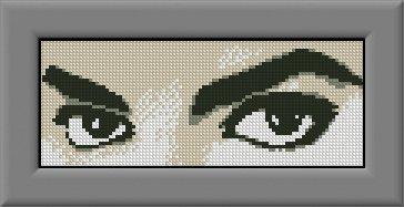 MICHAEL JACKSON 2 cross stitch knitting crochet pattern