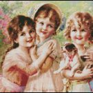 BEST OF FRIENDS cross stitch pattern