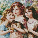 THE THREE GRACES cross stitch pattern