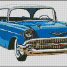 CHEVROLET 1957 cross stitch pattern