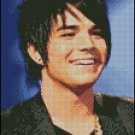 ADAM LAMBERT cross stitch pattern